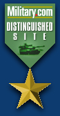 Military.com Gold Medal Site of the Year Award